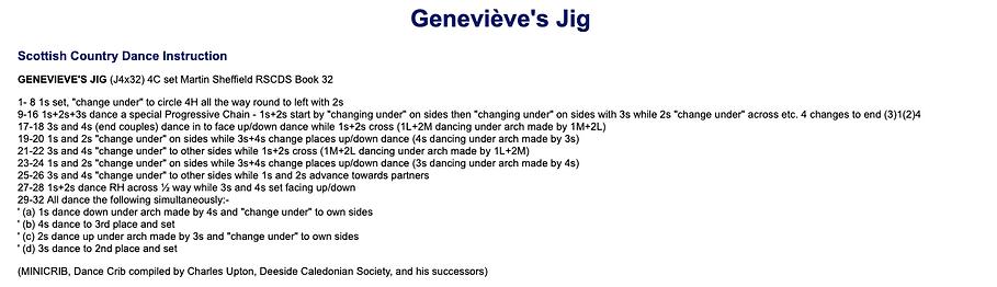 Genevieve's Jig