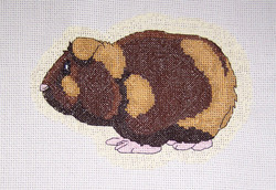 Guinea Pig Counted Cross Stitch