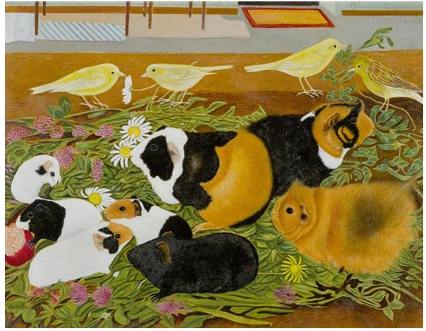 Guinea Pigs and Canaries