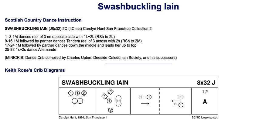 Swashbuckling Iain