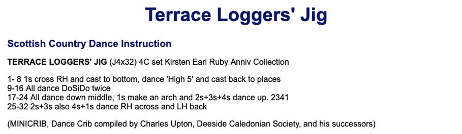 Terrace Logger's Jig