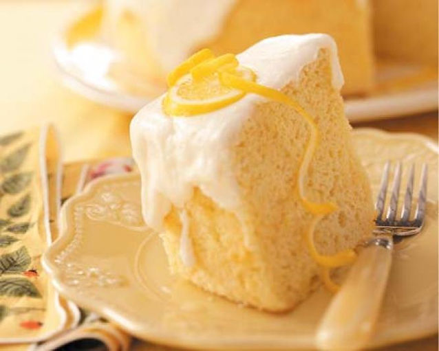 The Sour Lemon (Lemon Chiffon Cake)