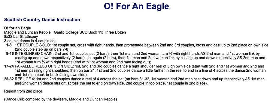 O! For an Eagle