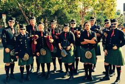 The Irish Pipers Band of San Francis