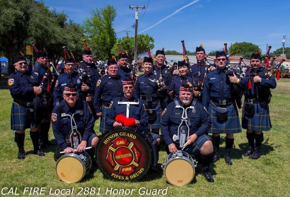 Cal Fire Local 2881 Pipes & Drums