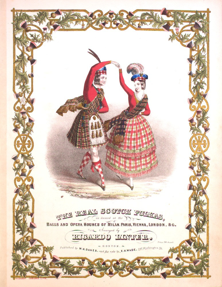 """""""The Real Scotch Polkas"""" piano sheet music - arranged by Ronald Lintner"""