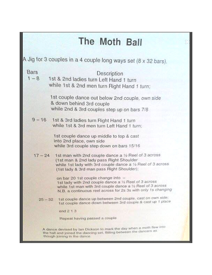 The Moth Ball
