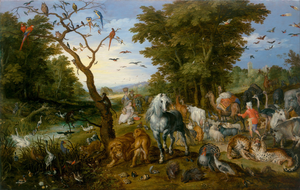 The Entry of the Animals to Noah's Ark