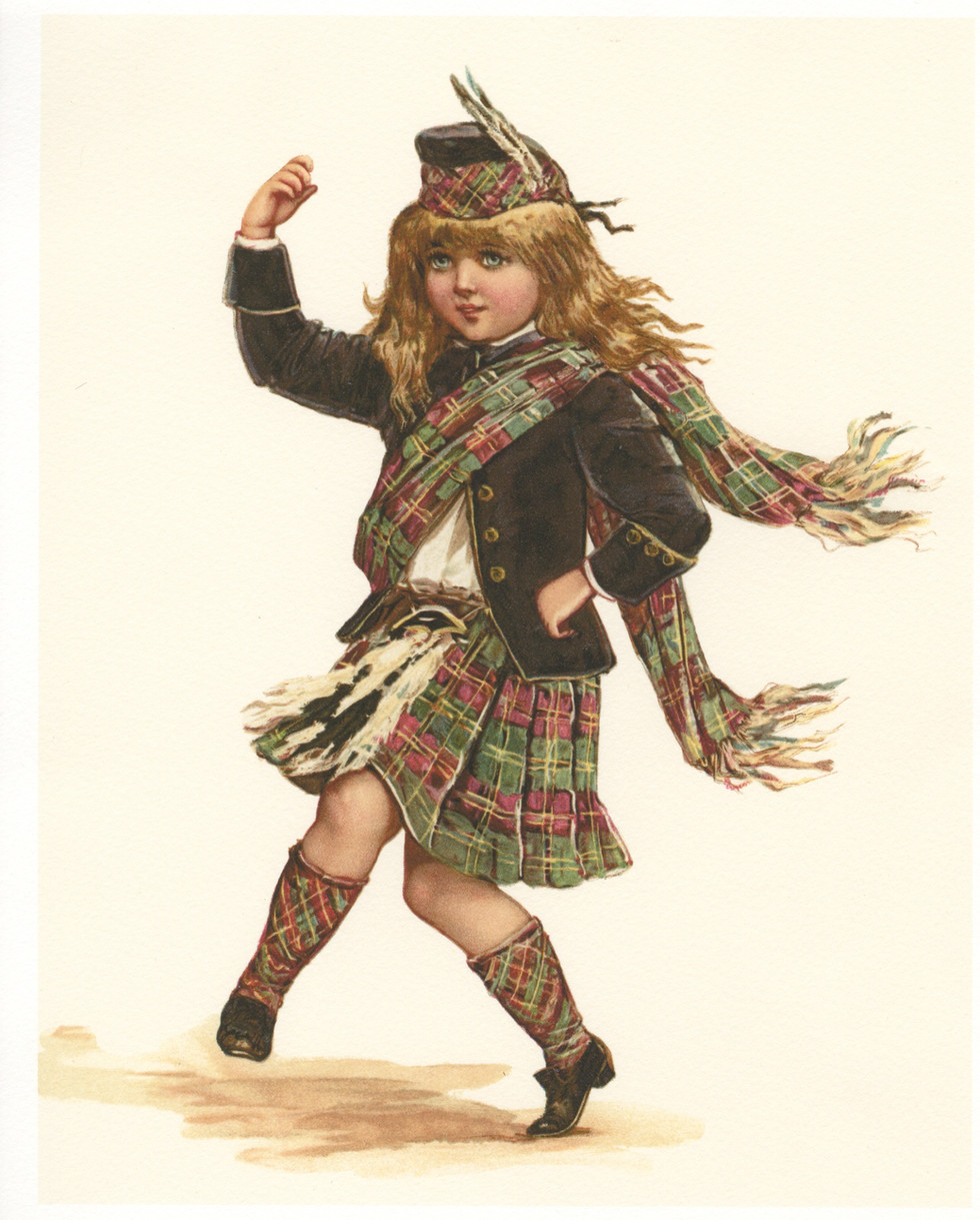 A Highland Dancer