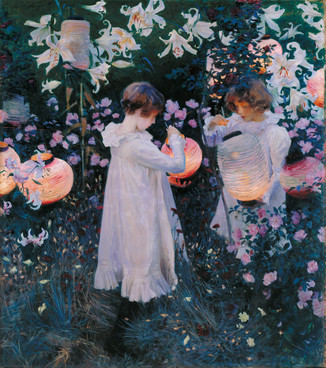 """Carnation, Lily, Lily, Rose"" by John Singer Sargent (1885-6)"