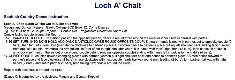 Lochan A' Chait