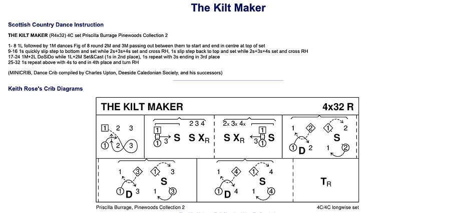 The Kilt Maker