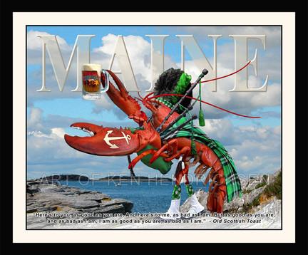 Tartan Lobster