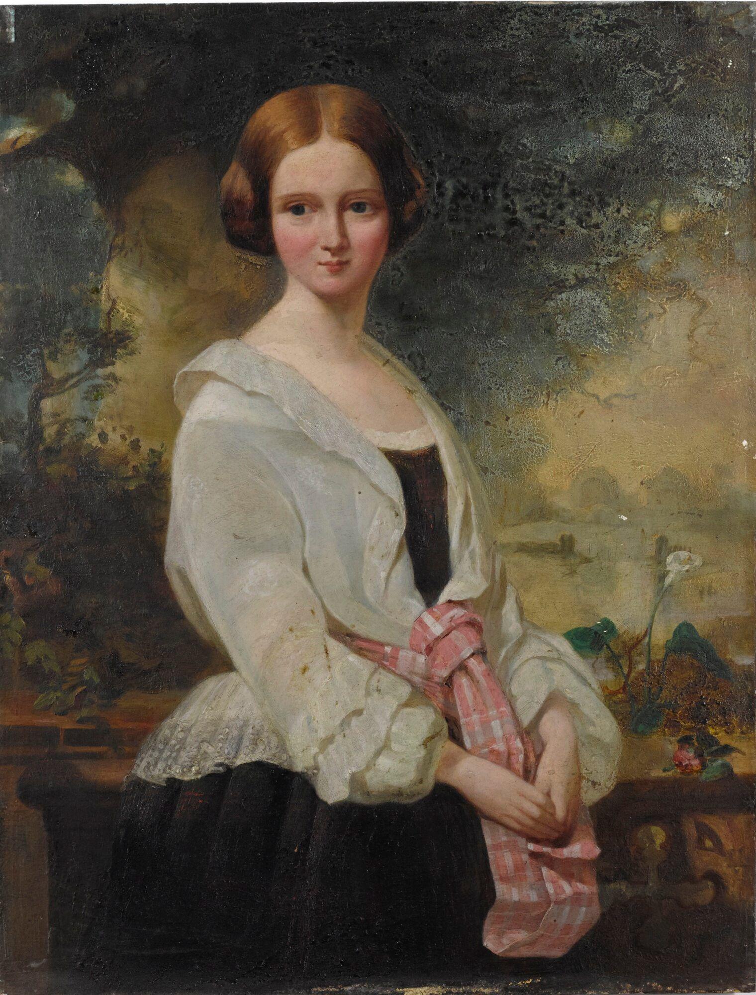 Portrait of Harriet Williamina Stuart Forbers