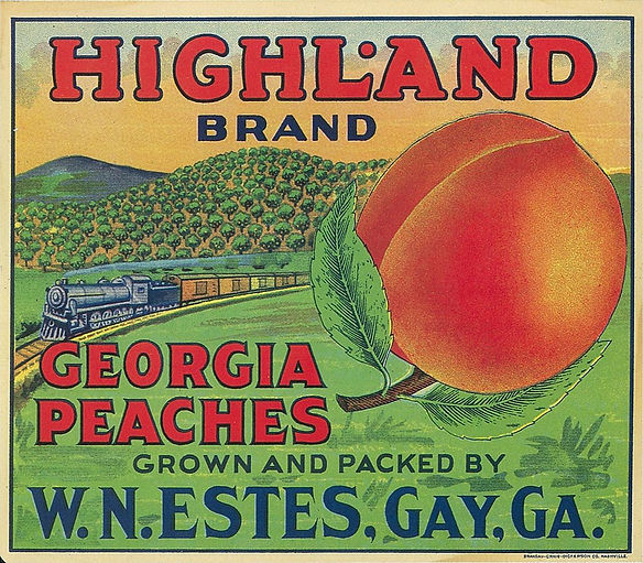 Apple Wine and Georgia Peaches
