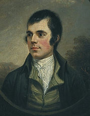 Robert Burns portrait supper nigh