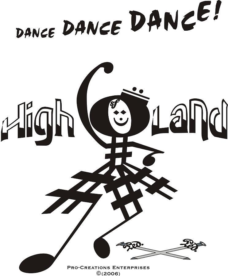 Highland Dance by Maria Watt, 2006