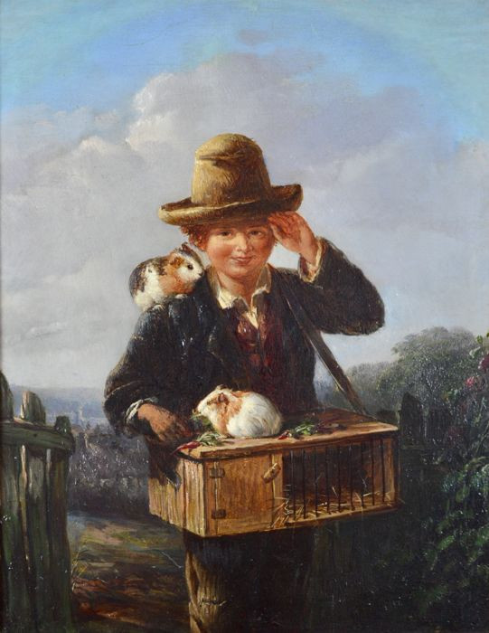 Boy with his Pets