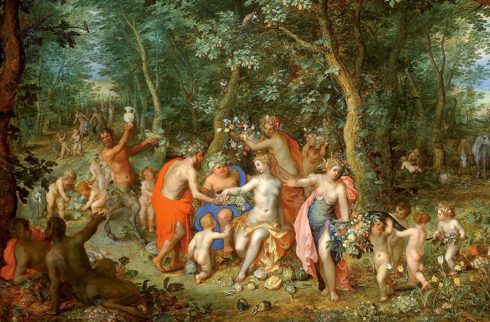 Allegory of Abundance (Venus Ceres Bacchus)