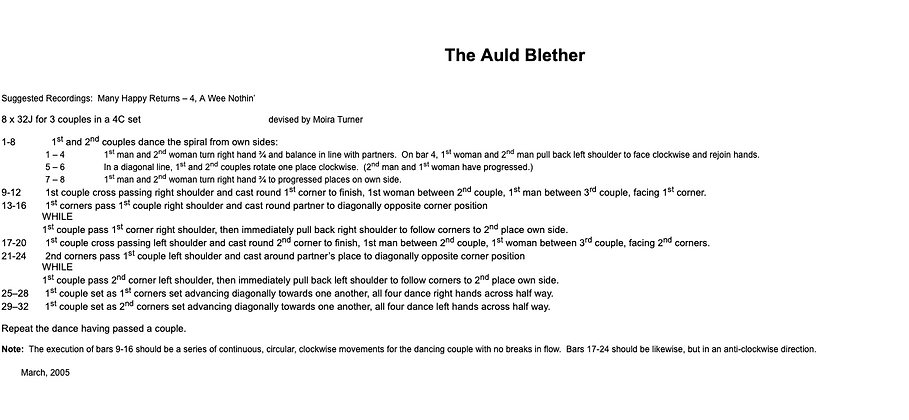 The Auld Blether