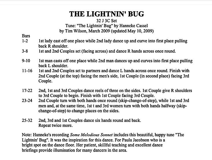 The Lightnin' Bug