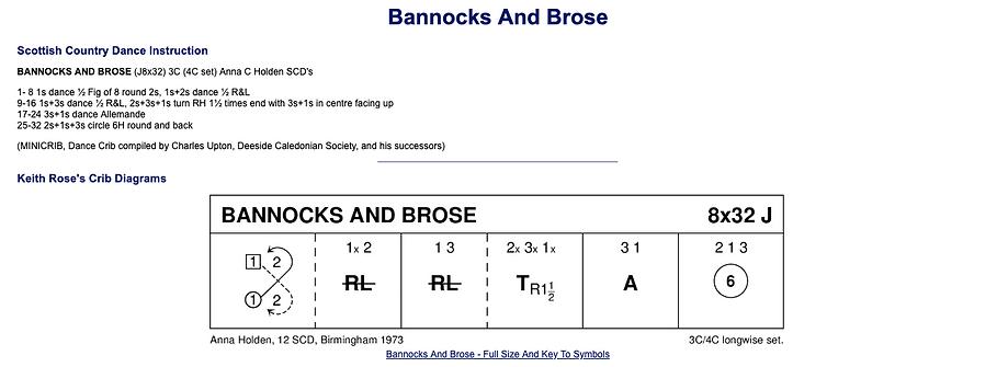 Bannocks and Brose