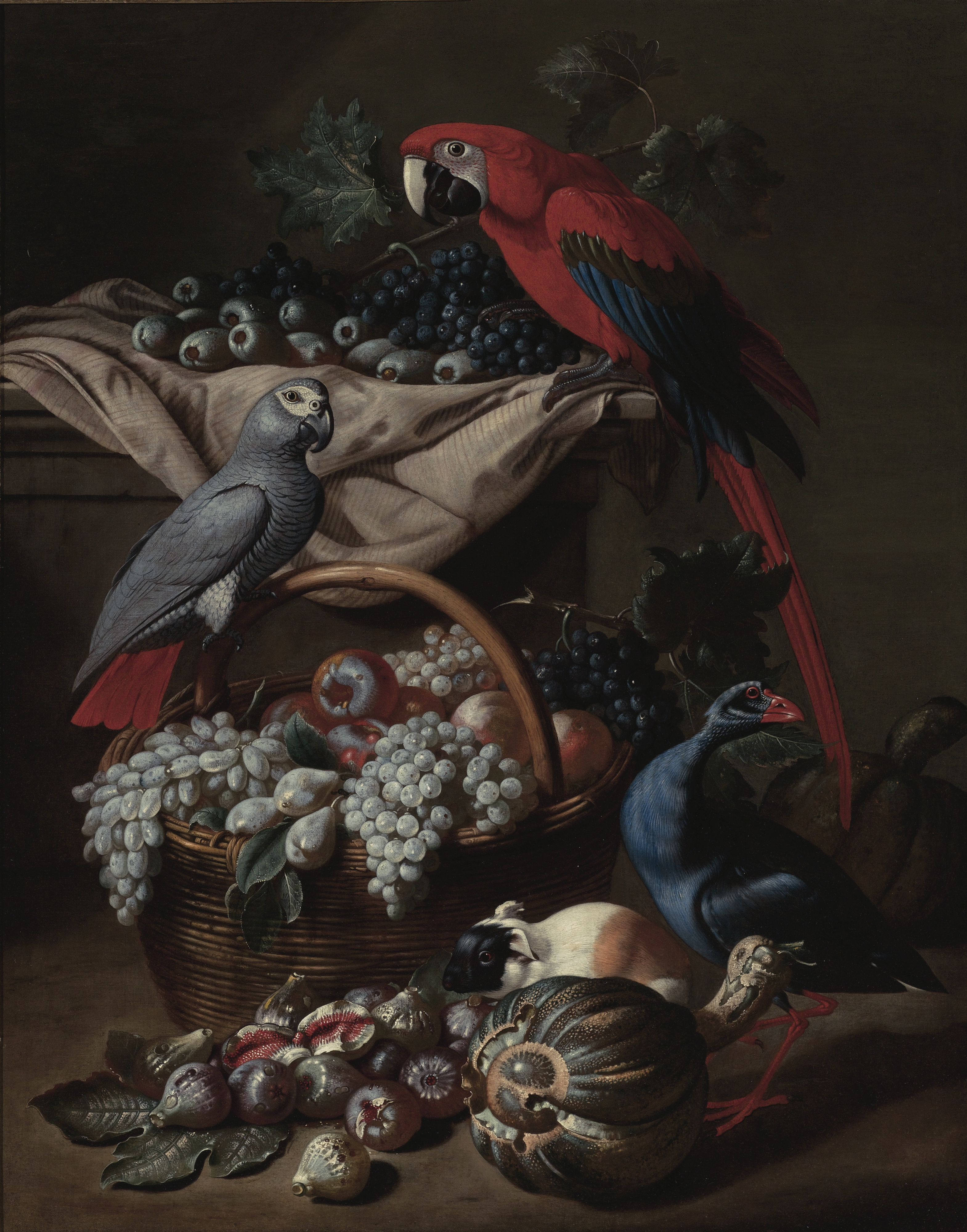 Still Life with Two Parrots, A Guin
