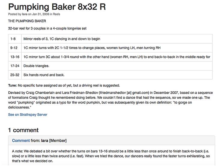 The Pumpking Baker