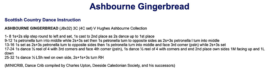 Ashbourne Gingerbread