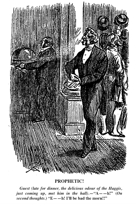 Prophetic!  The Delicious Odour of Haggis, Punch Library of Humour (Punch Scottish Humour)