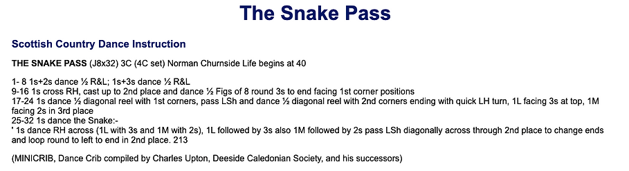The Snake Pass