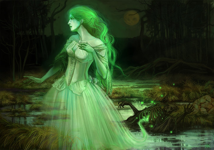 Green Lady of Skipness Castle