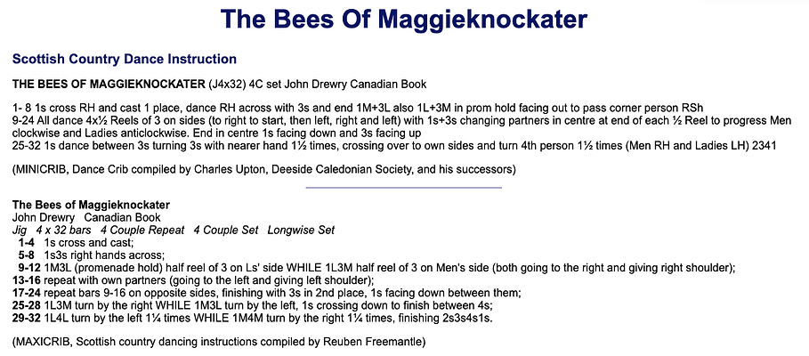 The Bees of Maggieknockater
