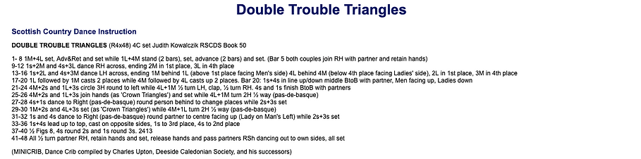 Double Trouble Triangles