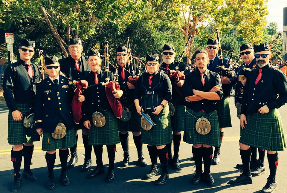 The Irish Pipers Band of San Francisco