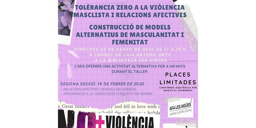 Xerrada: Prevenció violència masclista, 2a sessió