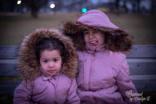 Sisters photo by Captured by Marilyn H Photographer
