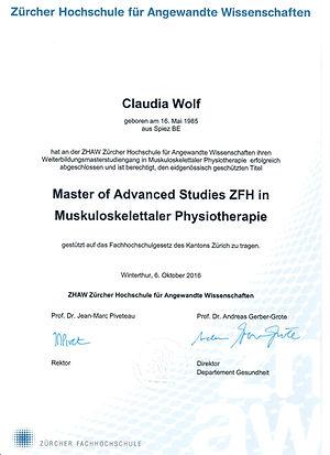 Physiotherapie Meierskappel