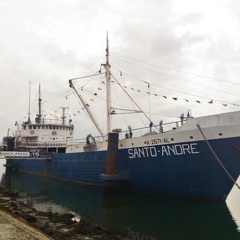Bateau Musée, Santo Andre