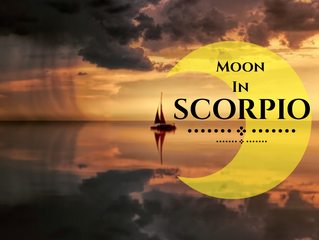 Visiting the secret places with Moon in Scorpio