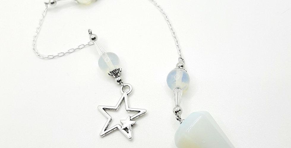 Opalite And Star Pendulum