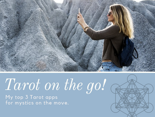Tarot on the go. Mobile apps for mobile Mystics.