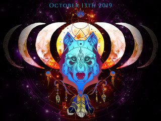 October 13th Hunters Moon in Aries