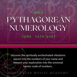 PYTHAGOREAN NUMEROLOGY 16th