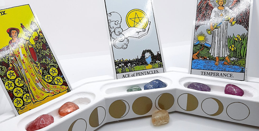 3 Cup Cardholder Moon Phases