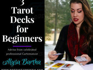 3 Tarot Decks for Beginners