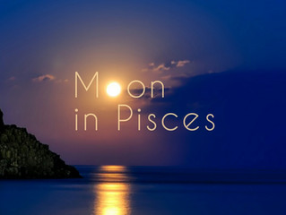 Swimming Back To Shore With The Moon in Pisces