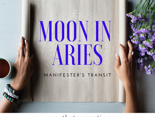 New Moon in Aries The Manifester's Transit