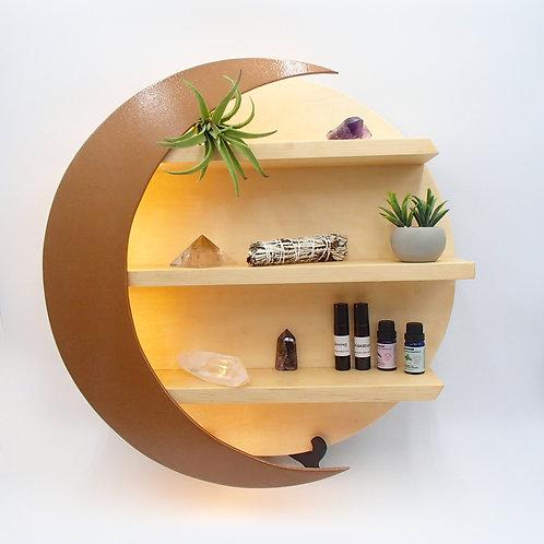 Luna Shelf - Copper