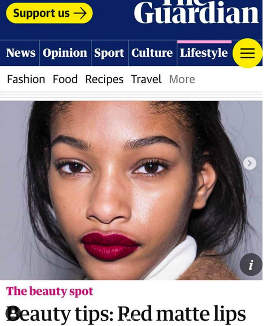 novel beauty the guardian beauty spo